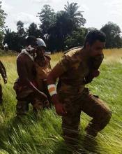 """جنود من الكتيبة الموريتانية أصيبوا خلال إحدى هجمات مليشيا """"أنتي بلاكا"""""""