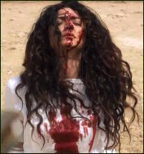 صورة لفتاة رجمتها داعش بنفس حكم قاضي نواكشوط الشمالية